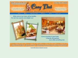 Cozy Thai, 3039 Lakeshore Blvd W , ON, Etobicoke
