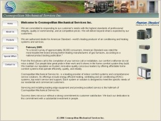 Cosmopolitan Mechanical Services Inc., 3065 Ridgeway Drive , Unit #38, ON, Mississauga