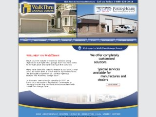 WalkThru Garage Doors Inc., 11610 County Road 42 , ON, Tecumseh