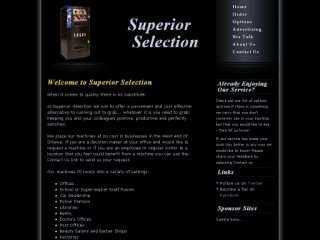 Superior Selection - Vending, 71 Landover Cres , ON, Kanata