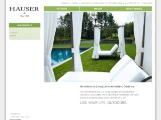 Toronto Outdoor Furniture - Hauser CO Stores, 1605 Bayview Ave #200 , ON, East York
