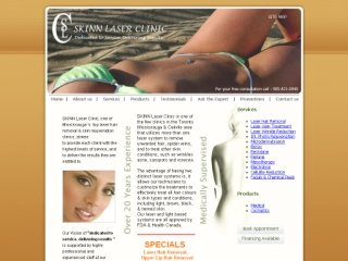 SKINN Laser Clinic &amp; Med Spa, 2555 Erin Centre Blvd. , ON, Mississauga