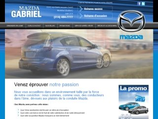 Mazda Gabriel, 5333 Rue Saint-Jacques , QC, Montral