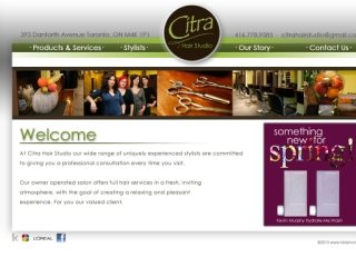 Citra Hair Studio, 393 Danforth Ave , 2nd floor, ON, Toronto