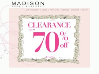 Madison Shoes and Accessories - CLOSED!!!! :(, 333 Eglinton Ave West , ON, Toronto