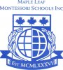 Maple Leaf Montessori School logo