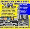 ETOBICOKE CAB logo