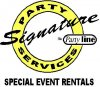 Signature Party Services. Logo