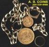 A. B. COINS  COMPANY logo