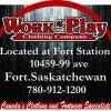 Work n Play Clothing Company  logo