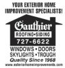 Gauthier Roofing and Siding logo
