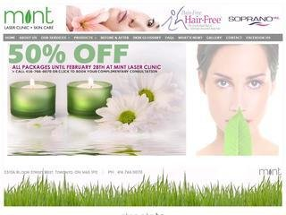 Mint Laser Clinic + Skin Care, 2310A Bloor Street West , ON, Toronto