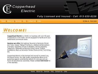 Copperhead Electric, 2502 Mer Bleue Rd , ON, Gloucester