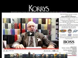 Korry's Clothiers, 569 Danforth Ave , ON, Toronto