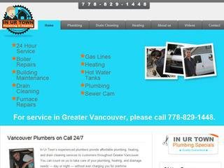 In Ur Town Plumbing & Heating Vancouver, 3649 West 11th Ave , BC, Vancouver