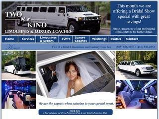 Two of a Kind Limousine & Exotic Car Rentals, 4000 Steels Avenue West , ON, Woodbridge