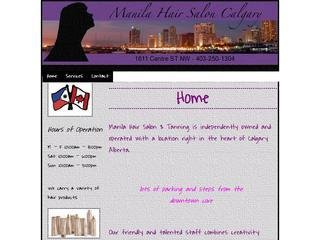 Manila Hair Salon & Tanning, 1611 Centre ST NW , AB, Calgary