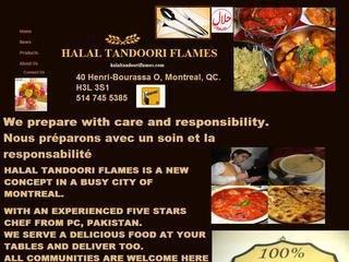 Halal tandoori flames, 40 henri bourassa  o , QC, Montréal