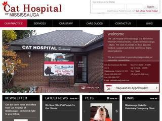 Cat Hospital of Mississauga, 848 Burnhamthorpe Rd W , Unit 2, ON, Mississauga