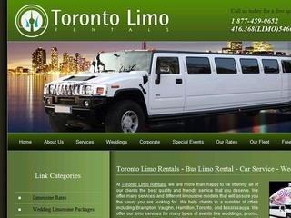 toronto limo rentals, 273 Glidden Rd., Brampton, Ontario L6W 1H9  , ON, Brampton