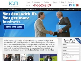 ICM Consulting Corporation, 1000 Finch Ave W. , Suite 222, ON, North York