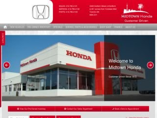 Midtown Honda, 3400 Dufferin Street , ON, Toronto