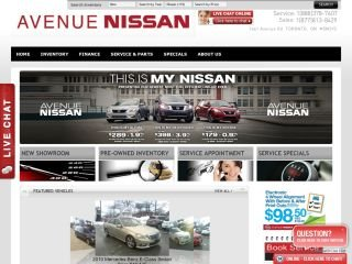 Avenue Nissan, 1661 Avenue Road , ON, Toronto