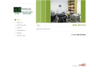 AB Printing Inc., 3181 Wolfedale Rd  , Unit 1A, ON, Mississauga