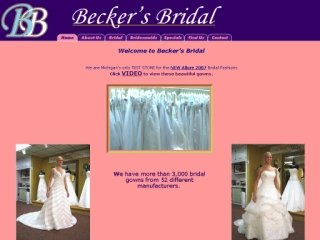 Becker's Bridal Ltd., 387 Danforth Avenue , ON, Toronto