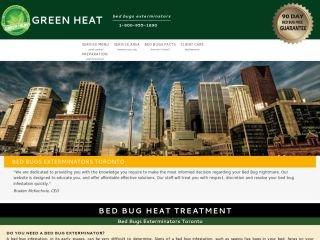 Green Heat Bed Bugs Exterminators, 15 Bruyeres Mews , Suite 1204, ON, Toronto