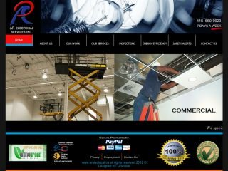 AR Electrical Services Inc. 4166609923 , ON, Mississauga