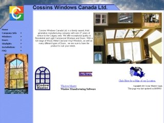 Cossins Windows Canada, 2908 18th Street N. E. , AB, Calgary