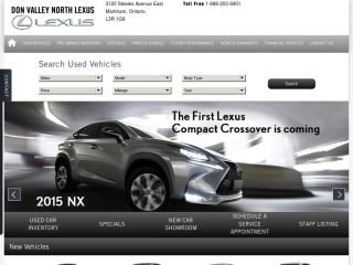 Don Valley North Lexus, 3120 Steeles Avenue East , ON, Markham