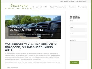 Bradford Airport Taxi and Limo, 46 Weir Street , ON, Bradford West Gwillimbury