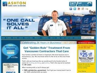 Ashton Service Group, 140-4631 Shell Road , BC, Richmond