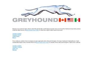Greyhound Canada, 610 Bay St , ON, Toronto