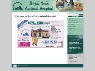 Royal York Animal Hospital, 4222 Dundas Street West , ON, Toronto