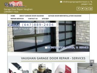 Vaughan Garage Door Repair, 93 Trudeau Dr , ON, Vaughan