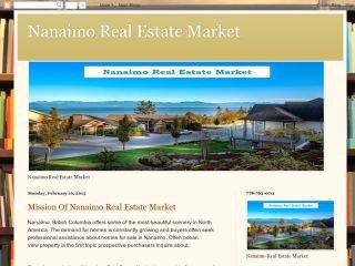 Nanaimo Real Estate Market , BC, Nanaimo