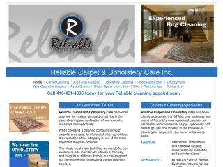 Reliable Carpet & Upholstery Care, 270 Carlaw Ave. , #103, ON, Toronto