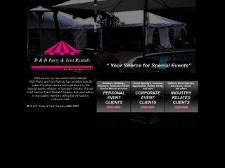 D & D Party & Tent Rentals, 40 Shaft Road  , Unit 10, ON, Etobicoke