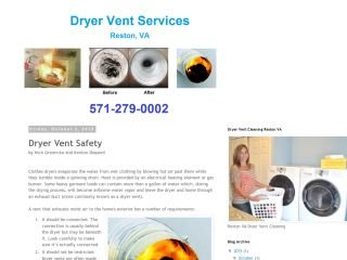 Dryer Vent Services , VA, Reston