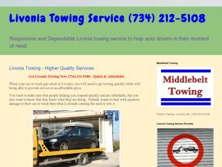 Middlebelt Towing, 13780 Merriman Rd. Suite 308 , MI, Livonia