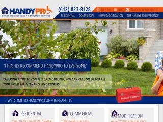 HandyPro Handyman, 4805 Colfax Ave S , MN, Minneapolis
