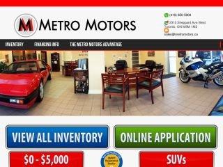 Metro Motors, 2310 Sheppard Ave W , ON, Toronto