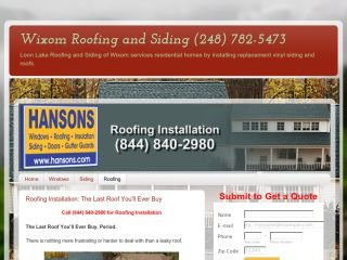 Loon Lake Roofing and Siding of Wixom , MI, Wixom