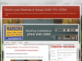 Teggerdine Roofing & Siding of White Lake , NC, White Lake