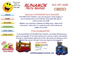 RUNAMOK Party Rentals , ON, Ottawa