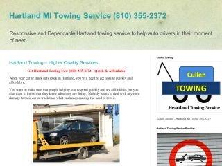Cullen Towing, - , MI, Hartland