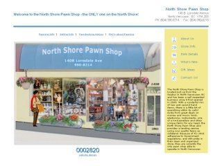 North Shore Pawn Shop, 140-B Lonsdale Ave , BC, North Vancouver